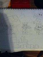 Castle Crashers Doodle by Snwball