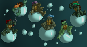 Turtle Tots on BUBBLEZ by R2ninjaturtle