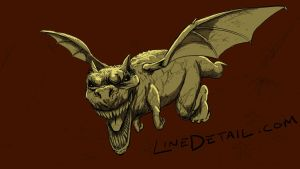 05 21 2012 Bat-TRex by LineDetail
