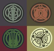 Brave-Family Crests by nanashi
