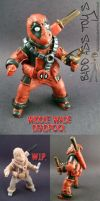Widdle Wade Deadpool finished by Randy-Chisholm