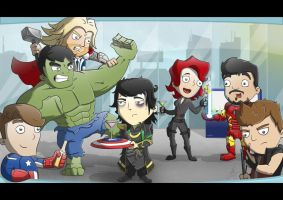 Avengers Commission by cute-death