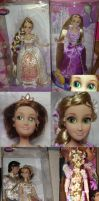 Tangled: Rapunzel's Hair by witchcraftywolfen