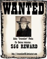 WANTED for Devious behaviour by IronOutlaw56
