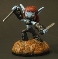 Skylanders Stealth Elf by Shinobitron