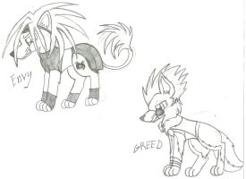 FMA: Envy And Greed WIP by webkinzfun8