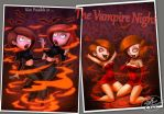 KIm Possible vampire night by 14-bis
