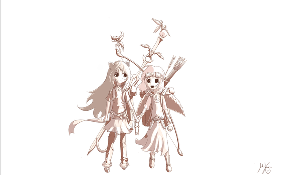 Sister's-WIP by unknownwittness