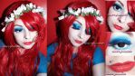 Makeup Glam Blue Sparkle Cherry Bomb 81 by cherrybomb-81