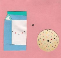 milk. love. and cookies. by obsceneOSTRICH