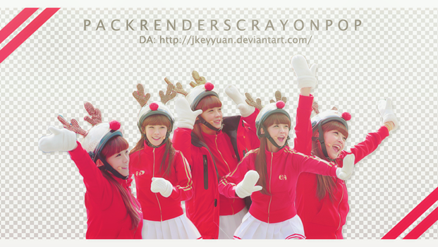 [SHARE RENDERS] Crayonpop by JKeyYuan