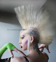 side view of hair by Countess-Grotesque