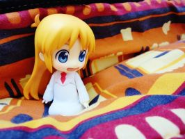 Bed is the best place. by Odessa-Himijo
