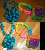 Kandi - Cube doubles by candiedLapin