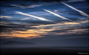 Some kind of `Scottish sky` over the Liedberg by indeepsilence