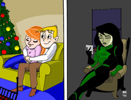 Shego's Lump Of Coal by GrouchoM