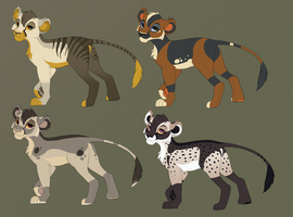 Lioness Adoptables by Kitchiki