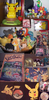 (Most of) My Pokemon Collection