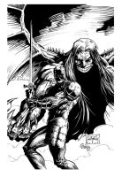 Cover Something Evil inks by gz12wk