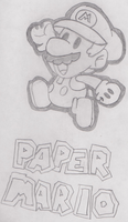 Paper Mario by SuperNess1000