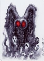 Mothman by fobiapharmer