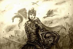 Project Fantasia: Lady Cassandra of House Draconis by Gambargin