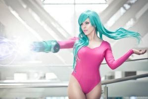 Samus Justin Bailey by nadyasonika