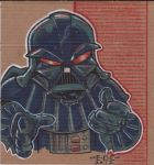 Vader marker piece by MARR-PHEOS