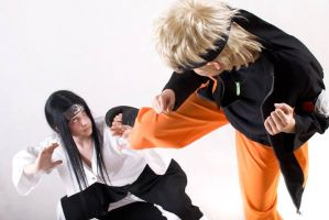 Naruto vs. Neji by ToraCosplayers
