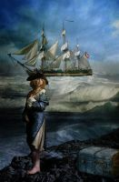 The ship is coming to take me by RoberLeSage