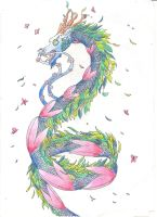 Japanes summer dragon by Azuria992