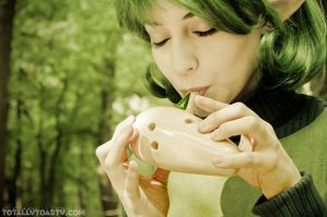 Saria from The Legend of Zelda by ArielleMarie