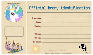 Official Brony Identification by LDinos