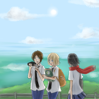 Attack On Titan AU by vocaloidfanx2