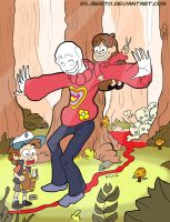 Slenderman goes to sweatertown - color by kiliberto