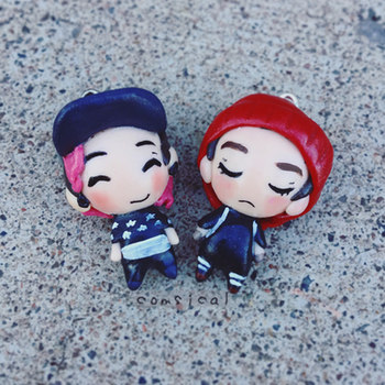 Twenty One Pilots Chibis by Comsical