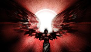 The Angel of Death: Red Redux by TheWhiteLight