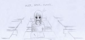 Gotta get to bed earlier... by Scayris