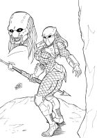 Female Predator by wyattx