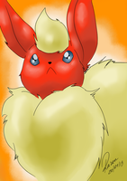 Flareon - Uh? by allocen