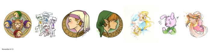 Month of Zelda: Nov. 6-12 by Rincs