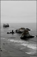 Desaturated Beach by jltrafton