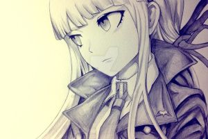 Kirigiri Kyouko DRAWING by battler000
