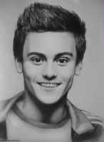 Tom Daley's portrait by Ksenianovember