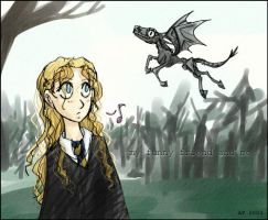 HP - Luna and friend by andrael