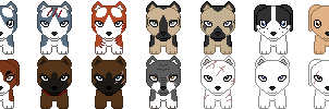 Ginga Plushie Icons by RegnantsCollection