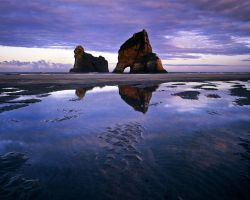 Wharariki Beach III by saxtim
