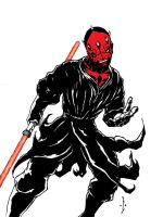 Darth Maul by DW-DeathWisH