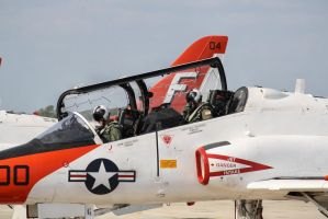 US Navy T-45c Trainer Jet 5 by FantasyStock