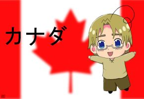 Chibi Canada by blueoceaneyes101
